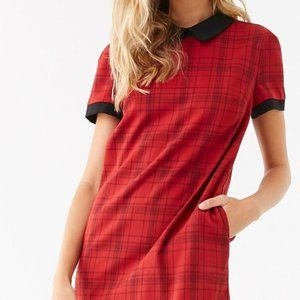 *Brand New* Forever 21 Red Plaid Dress Sz Small